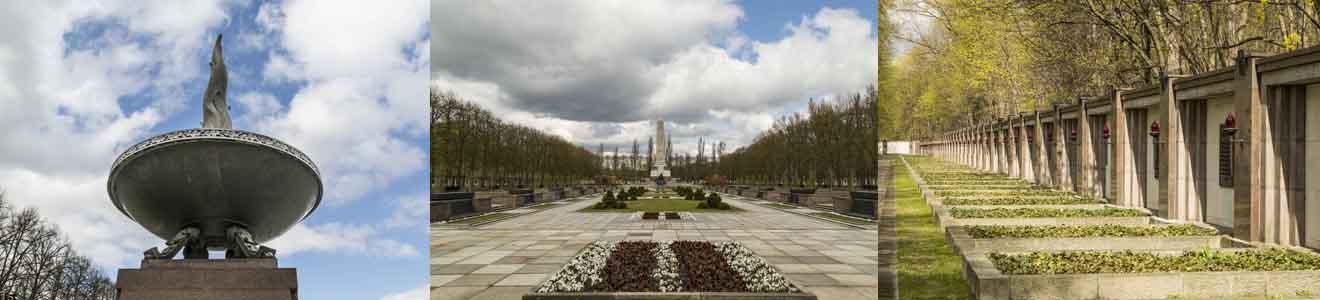 Treptower Park mit Sowjetischem Ehrenmal (Bezirk Treptow-Köpenick)