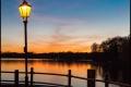 Tegeler See am Abend (Berlin-Reinickendorf)