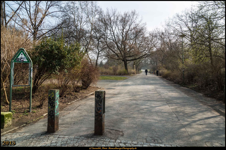 Eingang Monumentenstrasse - Viktoriapark (Bezirk Friedrichshain-Kreuzberg)