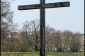Gedenkkreuz für die Opfer des 17. Juni 1953 - Viktoriapark (Bezirk Friedrichshain-Kreuzberg)