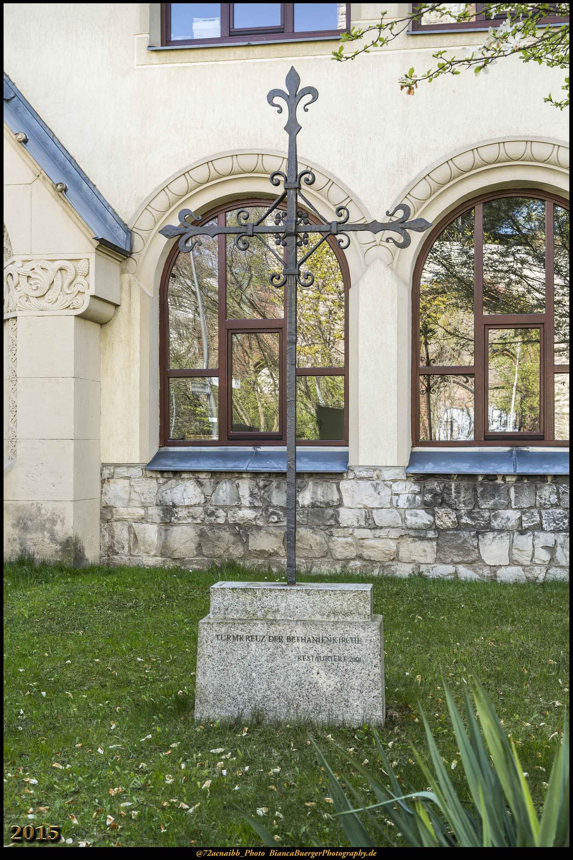 Kirchenkreuz Bethanienkirche (Ruine)